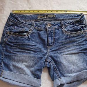 Wallflower Jean Shorts size 10